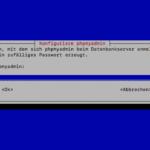 sudo dpkg-reconfigure -plow phpmyadmin